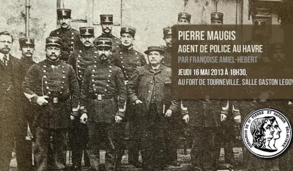 Poste de police rue Guillaume de Marceilles en 1908
