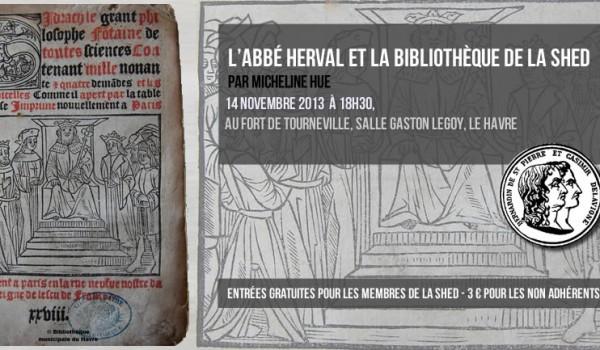 L'abbé Herval et la bibliothèque de la SHED