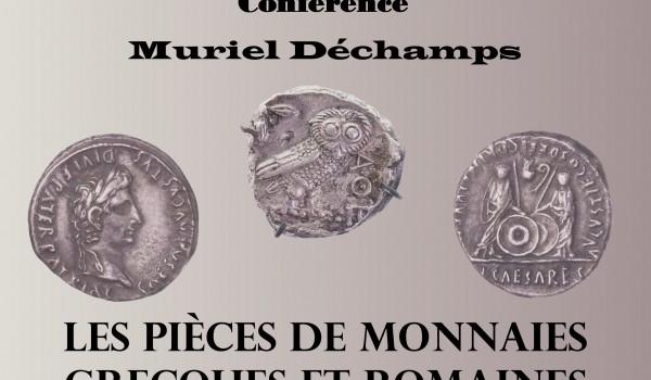 L'histoire de la monnaie grecque antique s'étend sur environ un millénaire. Elle se divise en quatre périodes : archaïque, classique, hellénistique et romaine. Chacune de ces périodes a son style, ainsi que ses propres caractéristiques et ses techniques. À l'origine, la monnaie était constituée de barrettes métalliques appelées oboles. Une poignée de six oboles s'appelle une drachme. L'histoire de la monnaie romaine, est celle qui, parmi toutes les monnaies antiques, a connu la plus longue et la plus grande expansion géographique. Elle va devenir, durant plusieurs siècles, la monnaie commune du monde occidental et méditerranéen. Cette conférence, accompagnée d'une vidéo, nous fera découvrir les richesses de l'Antiquité liées à ses monnaies.